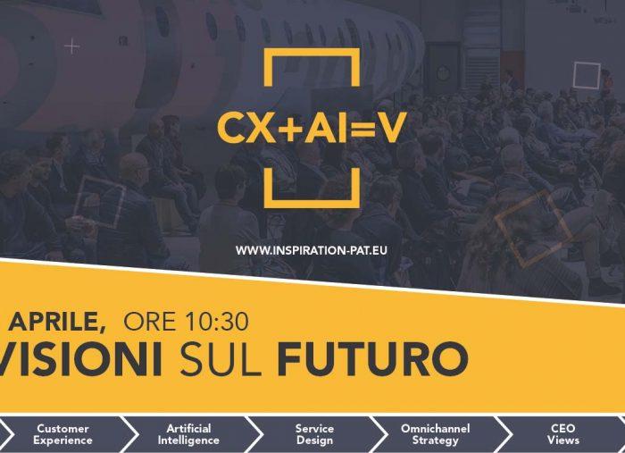 """Evento 5 Aprile """"CX+AI=V"""" – Ogni innovazione è un viaggio, con destinazione il futuro"""