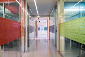 Corridoio sede rinnovata - Pat Montebelluna