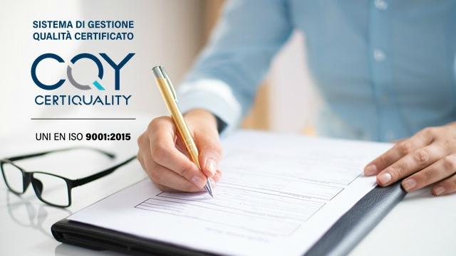 Pat: rinnovo della certificazione ISO 9001:2015