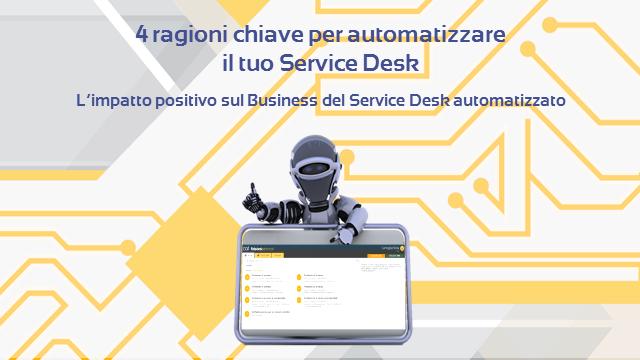Webinar: 4 ragioni chiave per automatizzare il tuo Service Desk